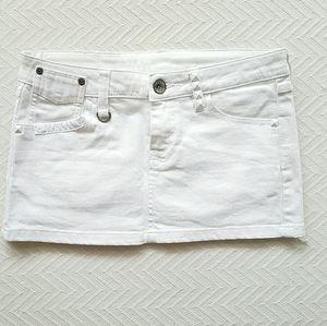 Mango Denim Studded Skirt